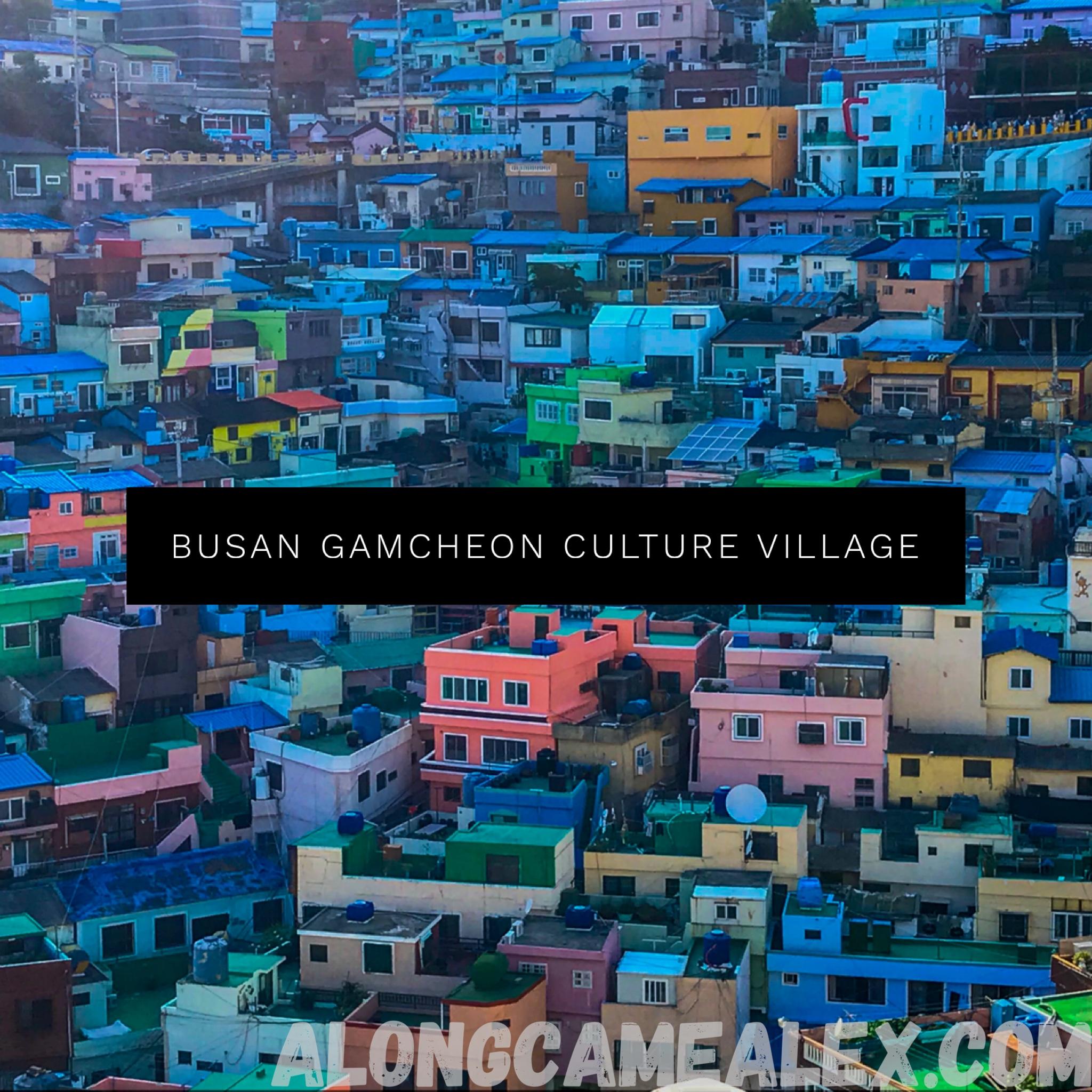 Busan Gamcheon Culture Village-부산 감천문화마을