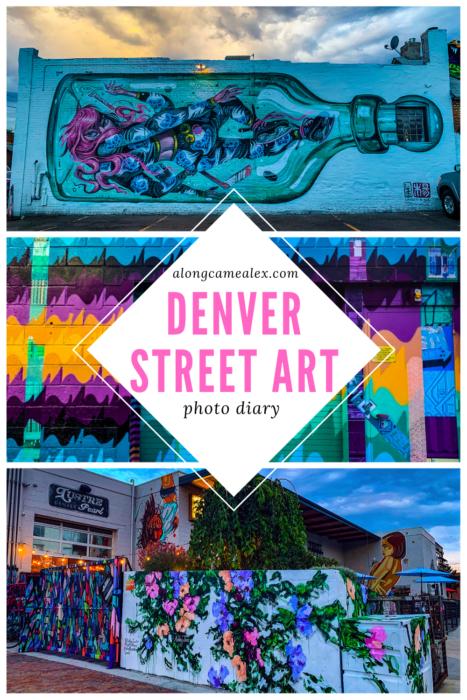Denver Street Art Photo Diary